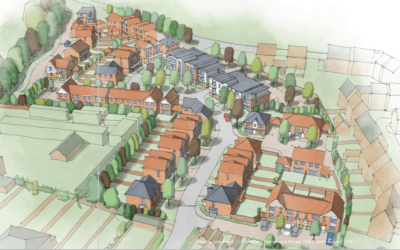 Danescroft have Submitted Detailed Planning for 88 Dwellings at Shopwhyke Road, Chichester