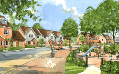 Danescroft and Fiera Real Estate package delivered at  5.3 acre Newport Pagnell residential site