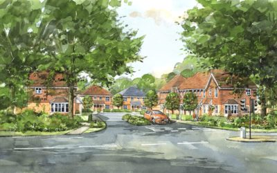 Fiera Real Estate and Danescroft announce the sale of the Residential Land Partnership's site at Crawley with planning for 185 residential units